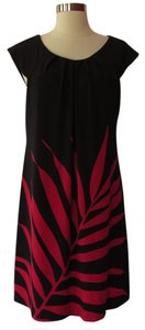 Maggy London short dress Black /Red on Tradesy