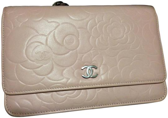 19c462b52782 Chanel Wallet On A Chain Light Pink Camellia | Stanford Center for ...