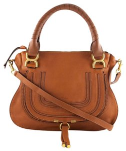 Chlo Marcie Satchel in Tan Chloe