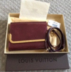 Louis Vuitton Burgundy / Amarante Clutch