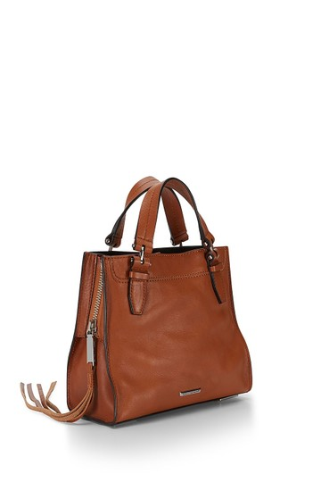 Rebecca Minkoff Blair Leather New With Tags Brown Suede Tote in Almond Multi Image 1