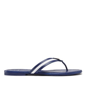 Tory Burch Royal Blue/White Sandals