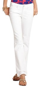 Lilly Pulitzer Jean Babe Resort Boot Cut Pants White