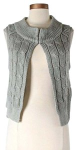Schumacher Cropped Cable Knit Cardigan