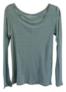 Anthropologie T Shirt Blue Green