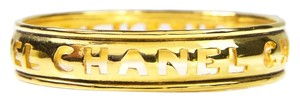 Chanel Chanel Cutout Bangle in Gold Plating