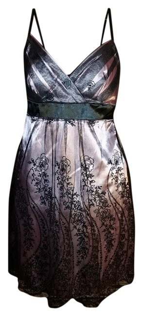 Preload https://item2.tradesy.com/images/trixxi-black-and-rose-knee-length-cocktail-dress-size-10-m-1626236-0-0.jpg?width=400&height=650