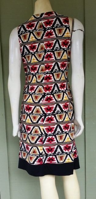 Jones New York short dress Multi-colored Aztec Jersey Pull-on Ethnic on Tradesy
