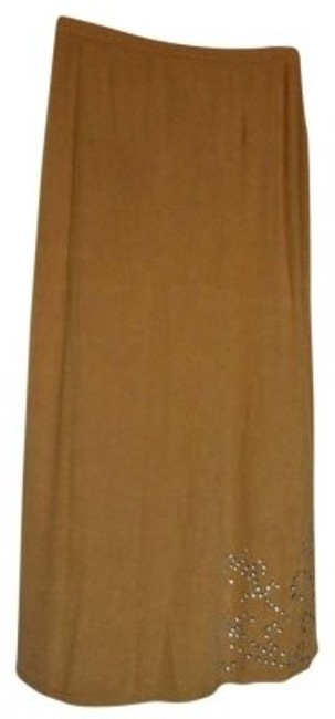 Preload https://item1.tradesy.com/images/kathie-lee-collection-tan-maxi-skirt-size-8-m-29-30-162625-0-0.jpg?width=400&height=650
