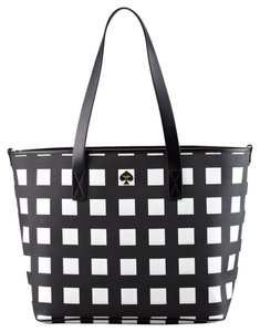 Kate Spade BLACK AND CREME Diaper Bag