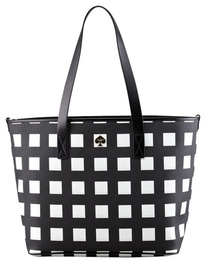 Preload https://item2.tradesy.com/images/kate-spade-harmony-check-black-and-creme-leather-vinyl-diaper-bag-1626311-0-0.jpg?width=440&height=440