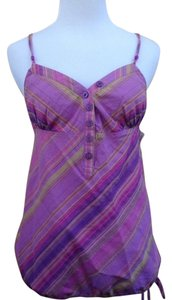 Guess Top Purple Yellow Pink