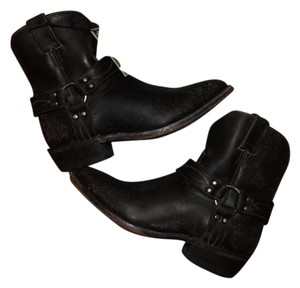 Frye Ankle Black Boots