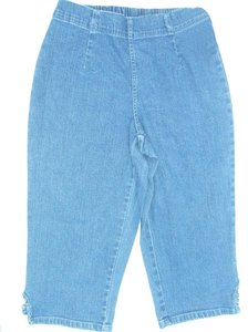 Croft & Barrow Capri/Cropped Denim-Medium Wash