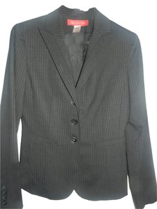 AK Anne Klein black and white strip Blazer