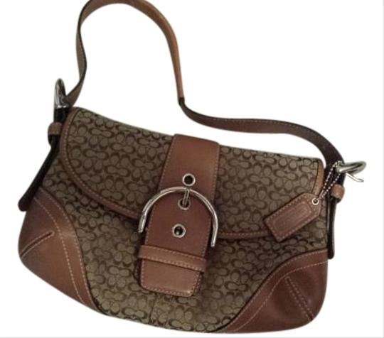 Coach Leather Hobo Bag Image 5