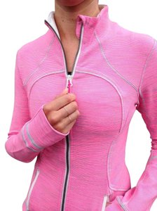 Lululemon Lulu Bright Girly Sporty Pink Jacket