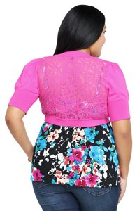 Torrid Brand New Lace Back Shrug 2x 18/20 Sweater