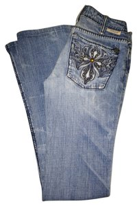 J & Co Jeans Boot Cut Jeans-Light Wash