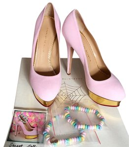 Charlotte Olympia Pink Pumps