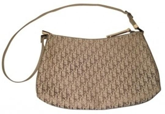 Dior Momgram Satchel in REDUCED!!! Tan canvas