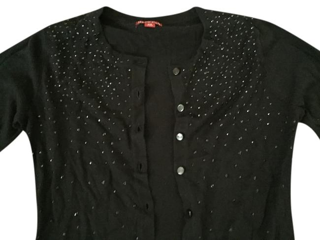 Preload https://item5.tradesy.com/images/merona-black-sparkle-cardigan-size-2-xs-1627224-0-0.jpg?width=400&height=650