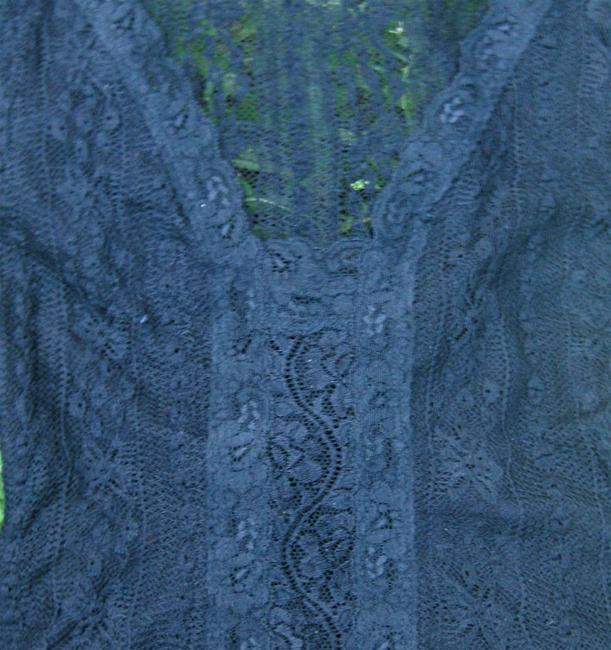 Other Sexy Steampunk Victorian Top Black Lace