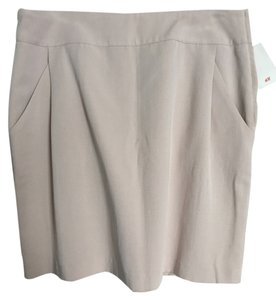H&M Mini Skirt Tan