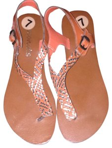 Coconuts Orange Sandals