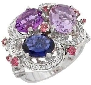 Graziela for Rarities Graziela for Rarities 5.29ct Multigemstone Ring - Size 8