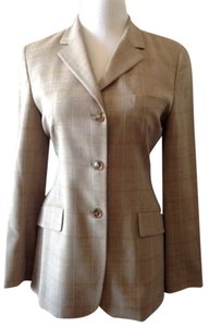 Luciano Barbera Italian Luxury New Camel/Blue Blazer
