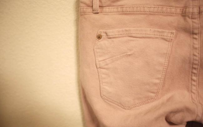 James Jeans Blush Pink Skinny Jeans-Light Wash