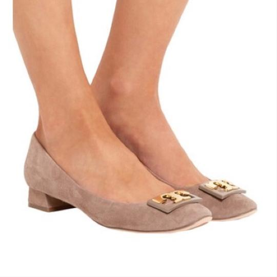 Tory Burch French Gray Pumps Image 4