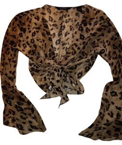 Express Top ANIMAL PRINT