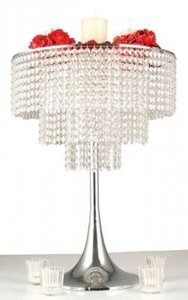 Clear Silver 10 Crystal Never Used Three Tier Crystal Chandelier Wholesale Crystal Wholesale Centerpiece