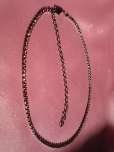 Other Pink crystals necklace