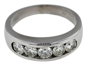Other Mens 14k White Gold 1.76ctw Rd Diamond Wedding Band Ring