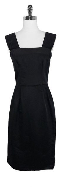 Preload https://item1.tradesy.com/images/dolce-and-gabbana-black-satin-long-cocktail-dress-size-4-s-1628295-0-0.jpg?width=400&height=650