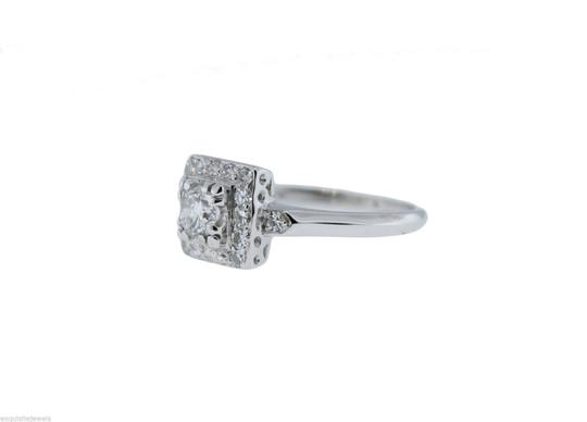 Other 0.76ctw EGL Brilliant Cut Diamond Engagement Wedding Ring E-F color SI Image 2
