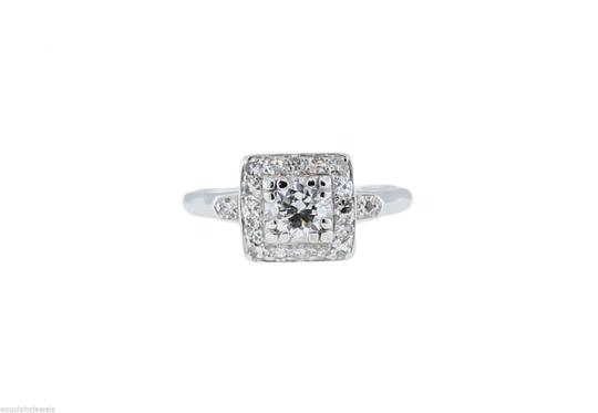 Other 0.76ctw EGL Brilliant Cut Diamond Engagement Wedding Ring E-F color SI Image 4