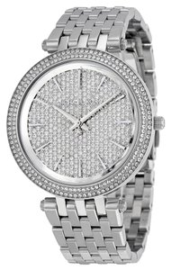 Michael Kors Michael Kors Darci MK3437 Silver Tone Stainless Pave Crystal Watch