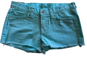 J Brand Brand New Low Rise Cut Off Shorts Teal/Blue