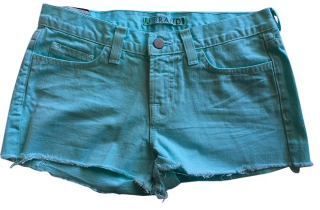 J Brand New Low Rise - Cut Off Shorts Teal/Blue
