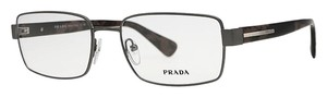 Prada Prada VPR60Q Matte Black Men 56mm Frame