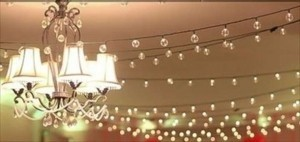 10 Sets Of 40ct String Lights Globe Cafe Lights 245 Ft Reception Decoration