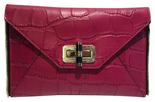 Preload https://img-static.tradesy.com/item/16287139/diane-von-furstenberg-new-cerise-leather-clutch-0-1-540-540.jpg