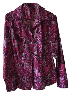 Tommy Hilfiger Top Pink Paisley