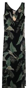Black Maxi Dress by Tommy Bahama Maxi Hawaiian Floral