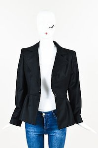 Stella McCartney Wool Black Jacket