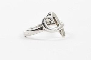 Tiffany & Co. Tiffany Co. Paloma Picasso Sterling Silver Loving Heart Ring